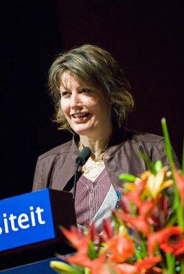 Laetitia Smit, hoofd HOVO Leiden
